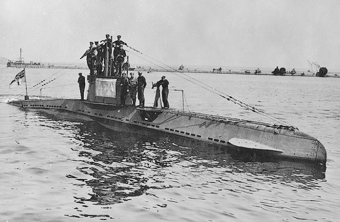 German U-boat_UB_14 1918